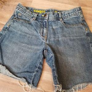 Crewcuts by J. Crew Denim Shorts Size 12